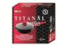 Сковорода «ТитанАл» с крышкой и съемной ручкой с покрытием Soft Touch
